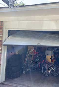 Garage Door Off Track Service Montgomery